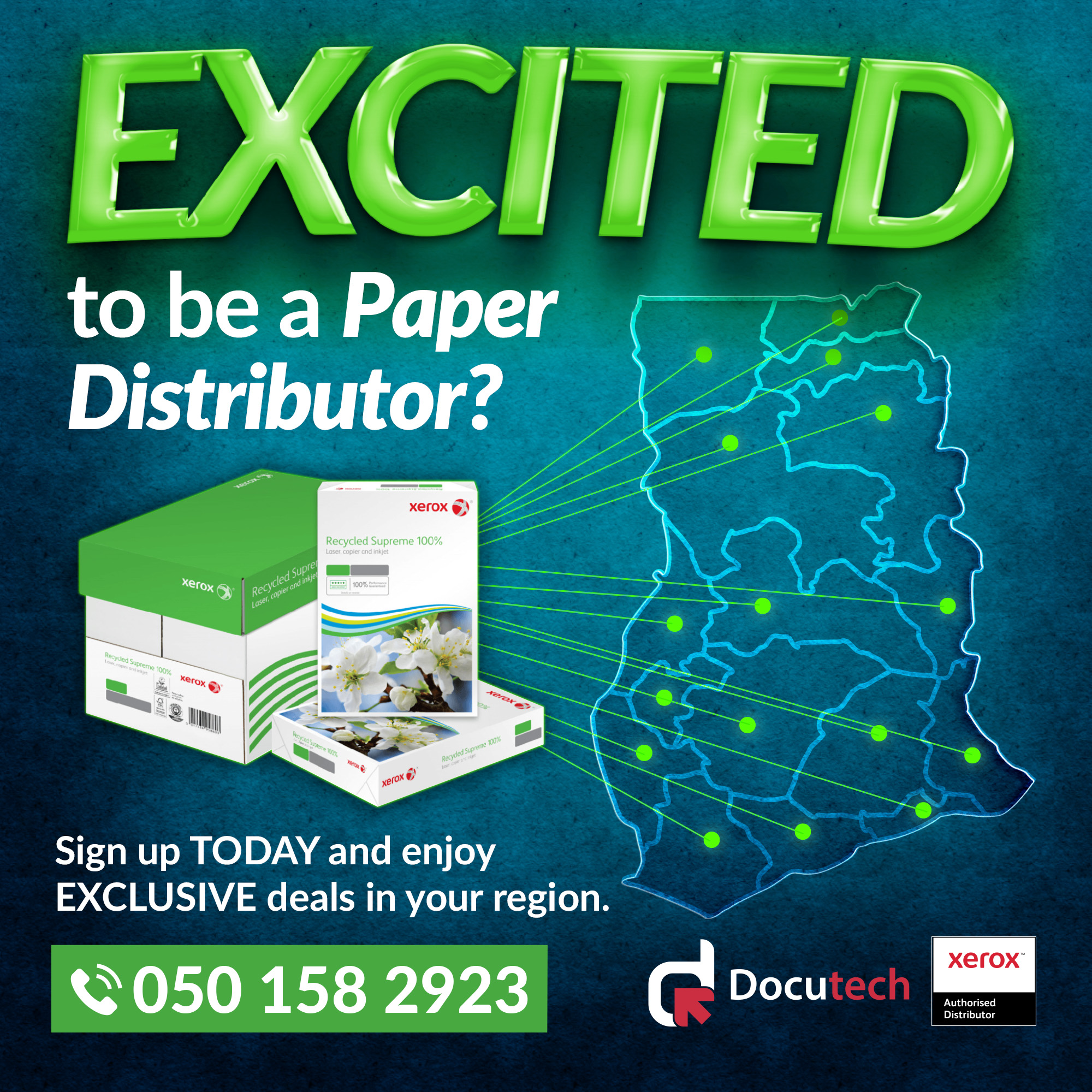 Paper distributor