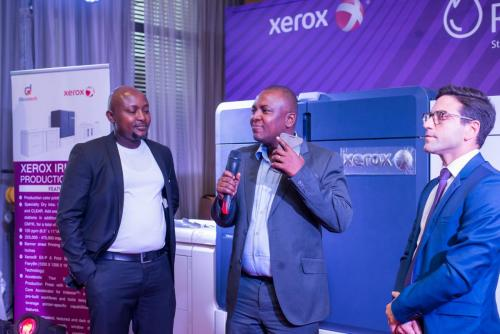 Xerox Iridesse Production Press Machine West Africa Launch
